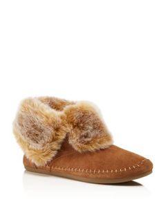TOMS Faux-Fur Zahara Booties | Bloomingdale's