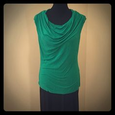 Culture Phit Draped Front Top size L Culture Phit Draped Front Top size L retail $48 EUC Cotton/ Spandex Blend Culture Phit  Tops Tees - Short Sleeve