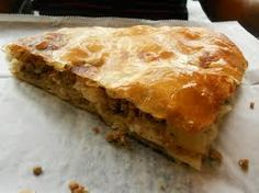kosovo food, Burek. I had this at least 10 times when i visited Kosovo with my family. AMAZING!