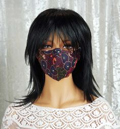 ONLY ONE LEFT of this stunning #covidmask.  An #aboriginaldesignfabric titled 'Around the Waterhole.' No more fabric available, so it really is the last one.  #covidmasks #covidmasksforsale #covidmasksafe #covidmasksbutfashion #covidmaskscanbecool #covidmasksdoneright #covidmasksmadewithlove #covidmasksvictoria #covidmasksaustralia #masks4all #masksforall #makemaskwearingfun #aboriginaldesign #covidwise #maskson Steampunk Hat, Half Mask, Steampunk Accessories, Masks For Sale, Messenger Bag Men, Looking Gorgeous, Real Leather, Fabric Design, Layers
