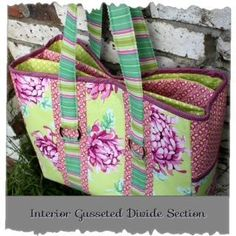 Multi-Purpose Carry All Bag from Sew Well Maide | Check out patterns on Craftsy!