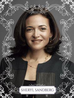 Sheryl Sandberg, chefe operacional do Facebook desde 2008