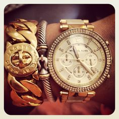 Arm candy ! Marc by Marc Jacobs - David Yurman - Michael Kors