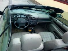Used Chrysler Sebring convertible in Braunschweig for € 2,500.-