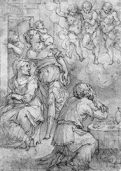 Abraham and the Three Angels VASARI Giorgio (Arezzo, 30 luglio 1511 – Firenze, 27 giugno 1574).