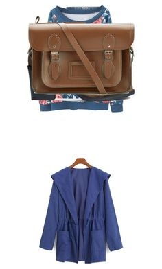 """""""Untitled #37"""" by anisarizvic ❤ liked on Polyvore featuring One Teaspoon, WithChic, H&M and The Cambridge Satchel Company"""