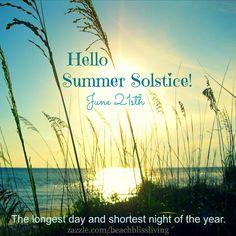 21st of June. Summer Solstice: https://www.facebook.com/CoastalBeachBlissLiving/photos/a.128908803835246.19702.128847517174708/928640100528775/?type=1&theater .... It will be a long beach day!