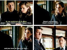 """""""Hey castles"""" one of my most fav lines of the show! Every Castle fan girl has waited for years to hear those words :D Made me love Ryan even more! #Castle"""