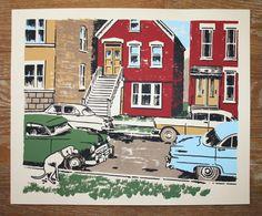 Ryan Duggan 1950s Chicago TSD Free Friday Poster Giveaway