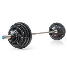 Vorteilspaket! Hantelsatz Gummi - Heavy-Duty 127,5 kg   #heavyduty #hantelset #hantel #langhantel #workout #vorteilsangebot #sparangebot #weightlifting #gewichtheben