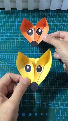 videos basteln 16 Simply Creative Paper Animal Crafts For Kids Paper Animal Crafts, Animal Crafts For Kids, Paper Animals, Paper Crafts Origami, Easy Paper Crafts, Art For Kids, Arts And Crafts, Craft Videos, Diy Videos