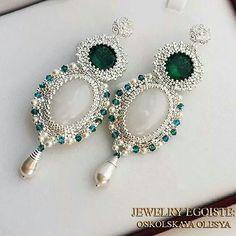 Earrings...very elegant !