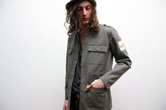 Vintage Fitted Military Jacket by ThePenduline on Etsy, €28.00