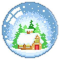 Snow Globe Scenes Cross Stitch Pattern | Lucie Heaton Cross Stitch Designs