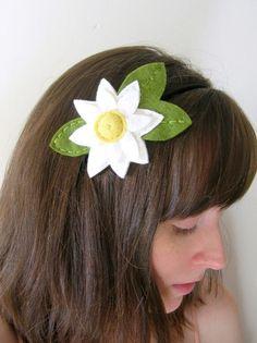 Daisy Felt Headband