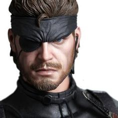 [Metal Gear Solid 3: Hot Toys Deluxe Action Figure: Naked Snake (Product Image)]