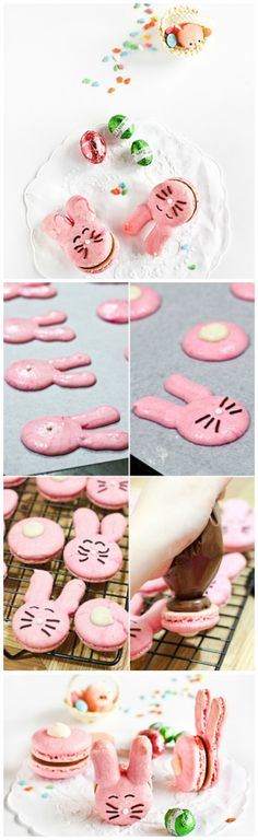 Easter Bunny Macarons Recipe