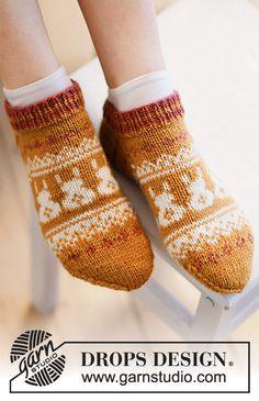 Knitting Patterns Free, Free Knitting, Knitting Socks, Free Pattern, Crochet Patterns, Drops Design, Drops Karisma, Magazine Drops, Cast Off