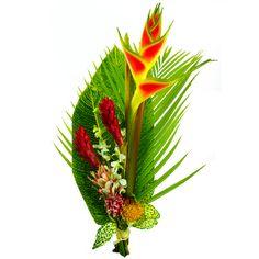Frio est un splendide bouquet exotique tout en hauteur compos de 3 anthur - Un beau bouquet de fleurs ...