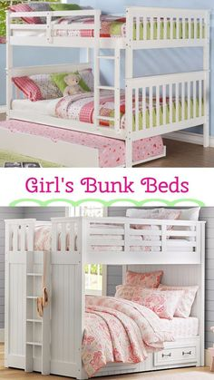 30 Bunk Beds for Girls Room - Mens Bedroom Interior Design Check more at http://billiepiperfan.com/bunk-beds-for-girls-room/