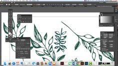 Turning your Sketches into Overall Patterns in Illustrator