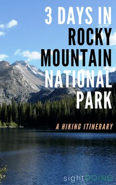 Go hike! Rocky Mountain National Park Colorado has great hiking. This itinerary (outside Denver near Estes Park Colorado) will help you plan your trip as long as you love to trek. Estes Park Colorado, Denver Colorado, Colorado Springs, Road Trip To Colorado, Colorado Hiking, Rafting In Colorado, Grand Lake Colorado, Pikes Peak, Fort Collins