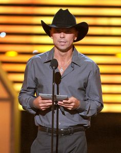 Kenny Chesney, LOS ANGELES, CA - JULY 11: Musician Kenny Chesney speaks onstage during the 2012 ESPY Awards at Nokia Theatre L.A. Live on July 11, 2012 in Los Angeles, California. (Photo by Kevin Winter/Getty Images)   More Kenny Chesney Photos »  Upload Your Kenny Chesney Photos »