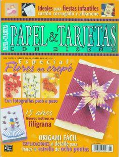 Revistas de manualidades Gratis: Como hacer invitaciones con papel corrugado