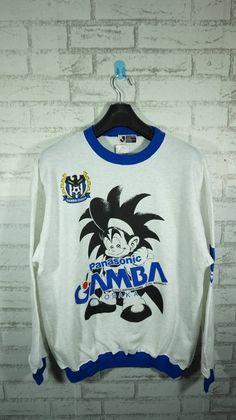 51714981b02 vintage J League Gamba Osaka JFA Football Sweater Sweatshirt Size Large L   Gamba  osaka sweater