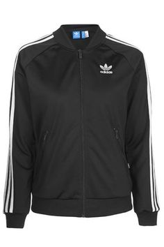 Black Firebird Tracksuit Top by adidas Originals
