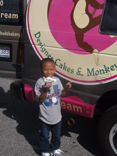 Our Food Truck Stays Busy!   Say Hi to one of our youngest customers, Tre!  www.sweetbudsbakery.com Follow @SweetBudsBakery on IG & Twitter