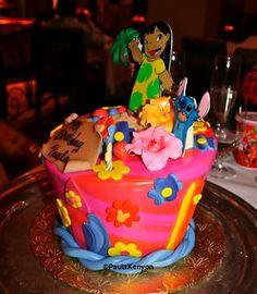 Lilo & Stitch Birthday Cake | Lilo and Stitch Birthday Party Ideas