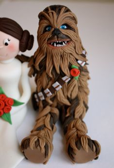 Hey, I found this really awesome Etsy listing at https://www.etsy.com/listing/181794456/fondant-chewie-cake-topper