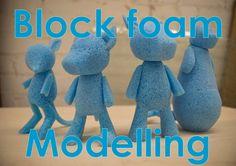 Block foam modelling