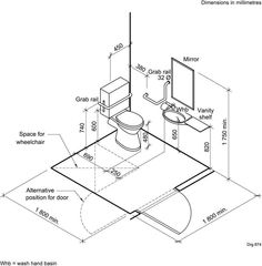 Handicapped Bathroom Dimensions Ada Handicap Bathroom