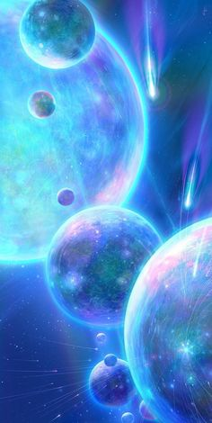 """Space And Astronomy Wallpaper. By Artist Unknown.psychonauticsymphony: """" Architectural Worlds Planets Wallpaper, Galaxy Wallpaper, Wallpaper Backgrounds, Fantasy Landscape, Fantasy Art, Art Galaxie, Instagram Png, Orion Nebula, Helix Nebula"""
