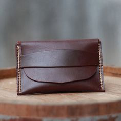 Men Wallets / Leather Wallet / HandStitched Wallet  by JooJoobs, $25.00 - Handmade Leather Wallets