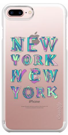 Casetify iPhone 7 Plus Case and iPhone 7 Cases. Other USA Urbans iPhone Covers - New York New York by Fimbis | Casetify