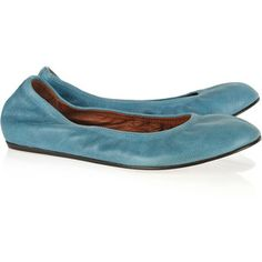 Simple but comfortable Lanvin ballet flats.