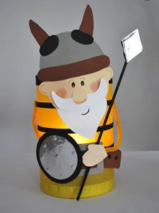 wikingerlaterne- Viking Lantern