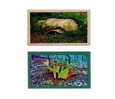 ACEO Miniatures Woodland Oddities Surreal by twistedpixelstudio, $10.00
