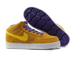 designer fashion 0b9ec 47adc Nike Dunk High iD Mens Shoes - YellowPurple - Wholesale