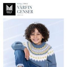 DG378 11 Vårfin genser | Dale Garn