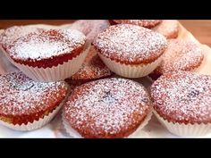 Vyrábajú sa za 5 minút, mäkké raňajky, vynikajúce mini koláče # 270 - YouTube No Cook Desserts, Cookie Desserts, Cookie Recipes, Easy Cake Recipes, Dessert Recipes, Minnie Cake, Egg Recipes For Breakfast, Mini Torte, Cupcakes