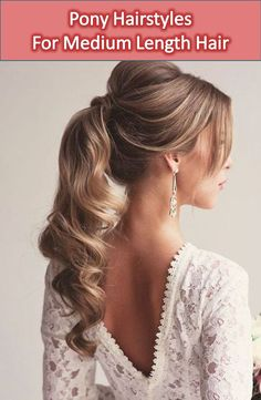 You will get here 20 amazing pony hairstyles. It will certainly give you some idea to set your hair in this summer. Find the best Pony Hairstyles for you.