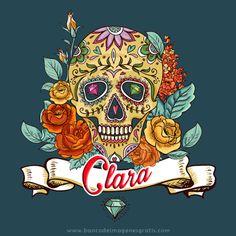 BANCO DE IMAGENES GRATIS: Calaveritas del Día de Muertos con nombres de mujeres y hombres (Pida usted sus nombres aquí)