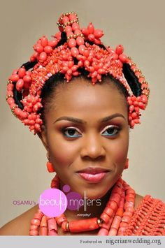 Nigerian Edo/ Benin Brides: Check Out This 16 Stunning Traditional Wedding Attires For Ideas & Inspirations  