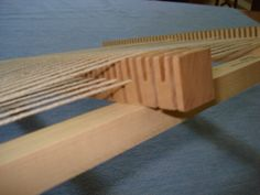 Lost Pond Looms Rotating Heddle Bar for Loom Weaving