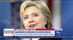 ABC: Hillary Clinton Braces For Loss In Wisconsin   TT News