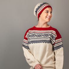Marius lue, baggy Norwegian Style, Christmas Sweaters, Pullover, Knitting, Fashion, Moda, Tricot, Christmas Jumper Dress, Breien